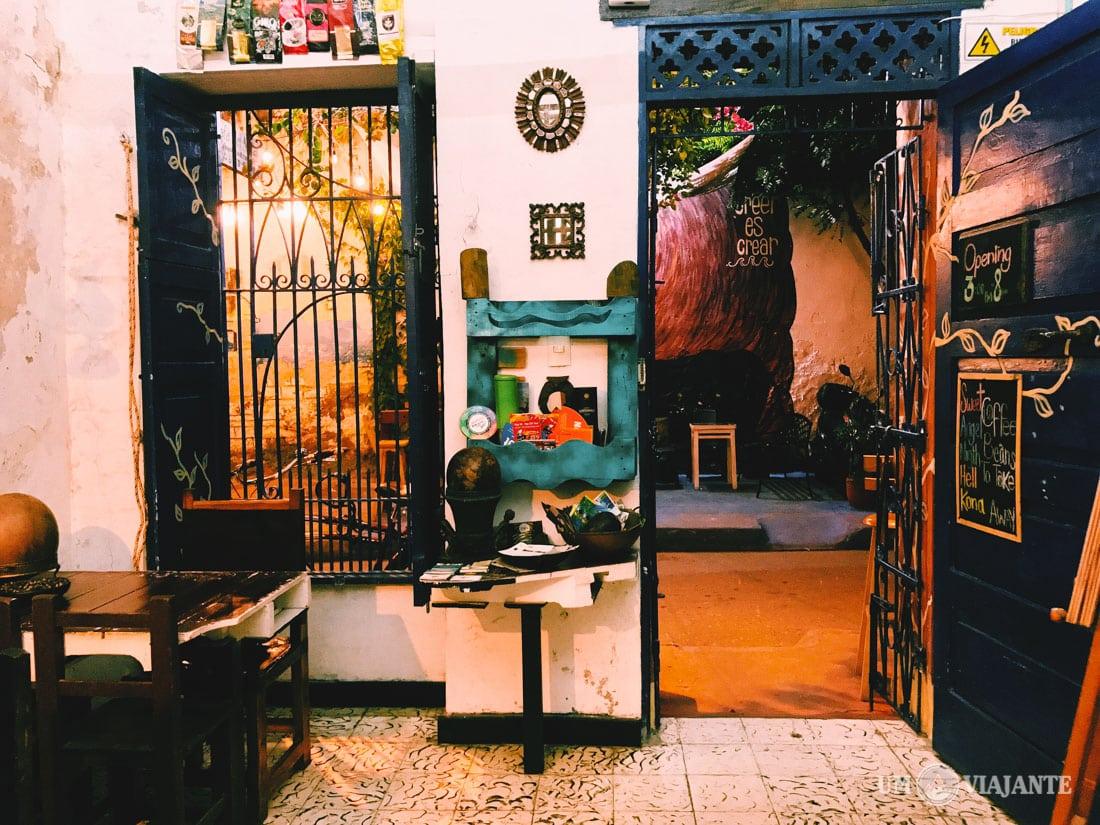 Café del Mural, Cartagena