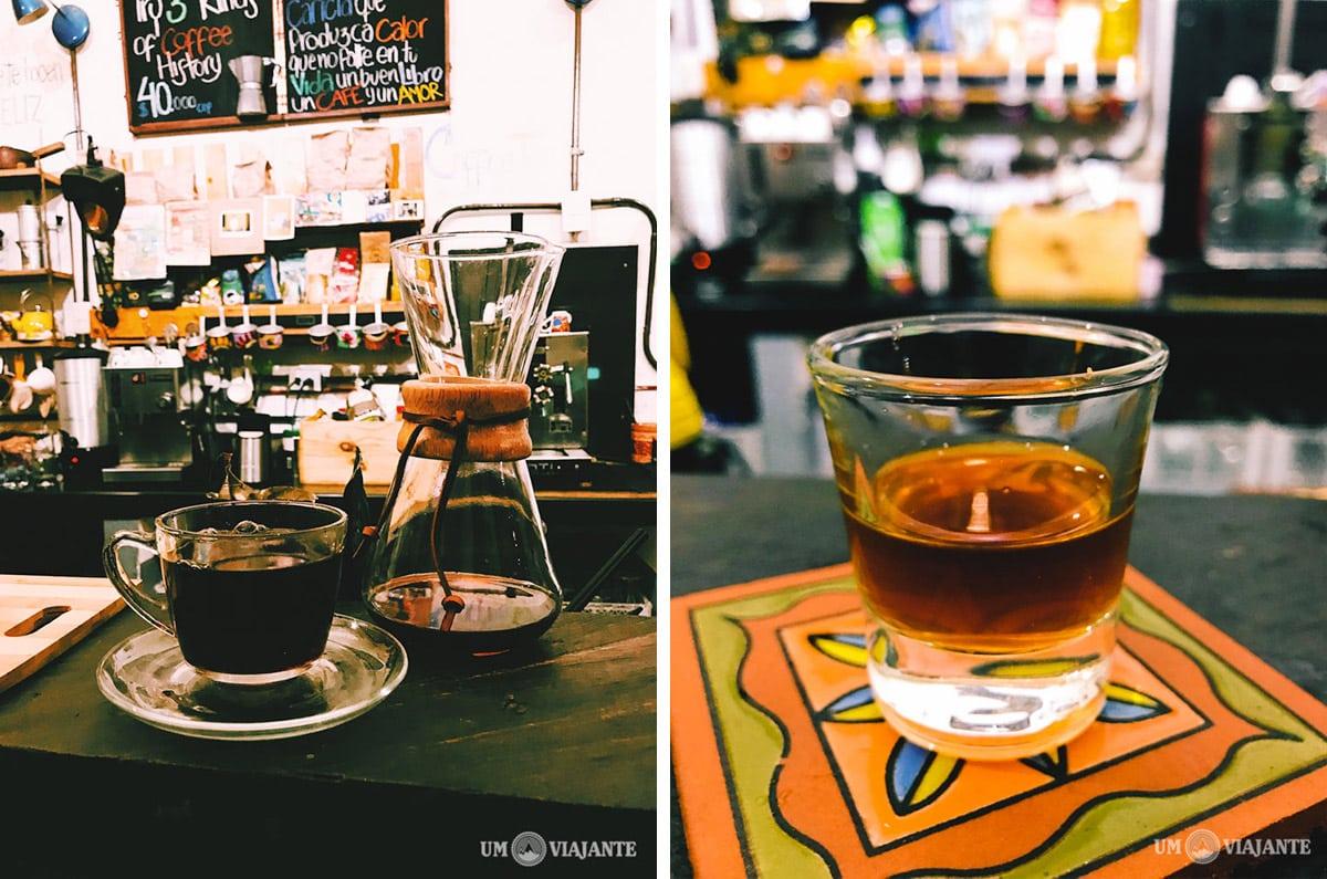 Café filtrado, Café del Mural, Getsemani - Cartagena