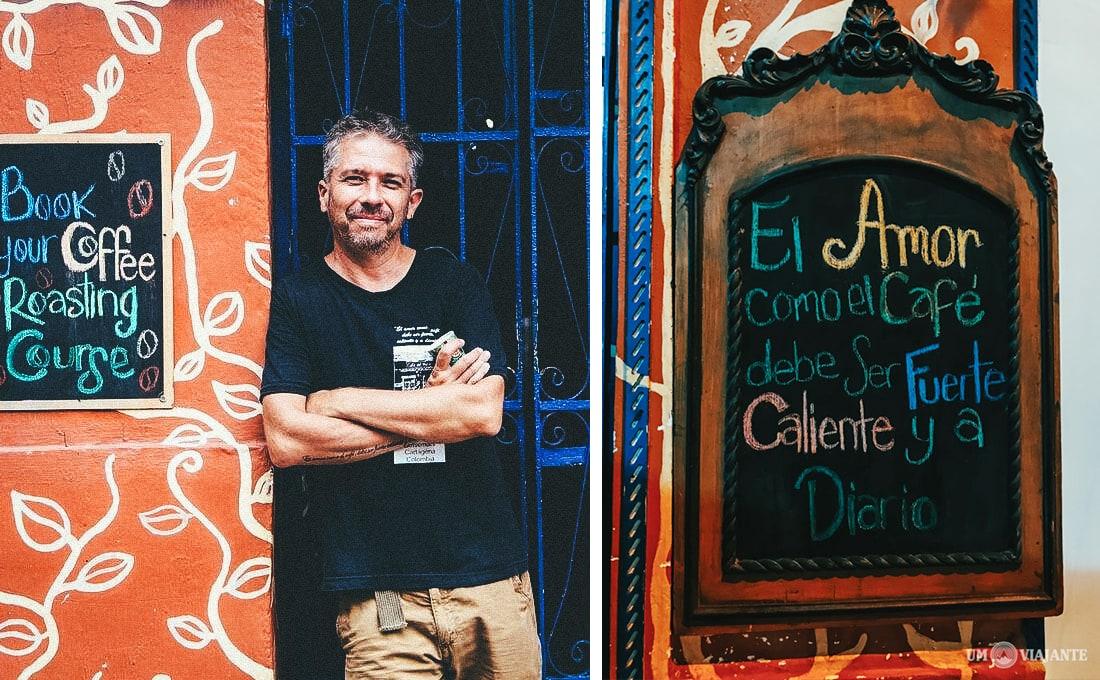 David Arzayus, Café del Mural - Cartagena