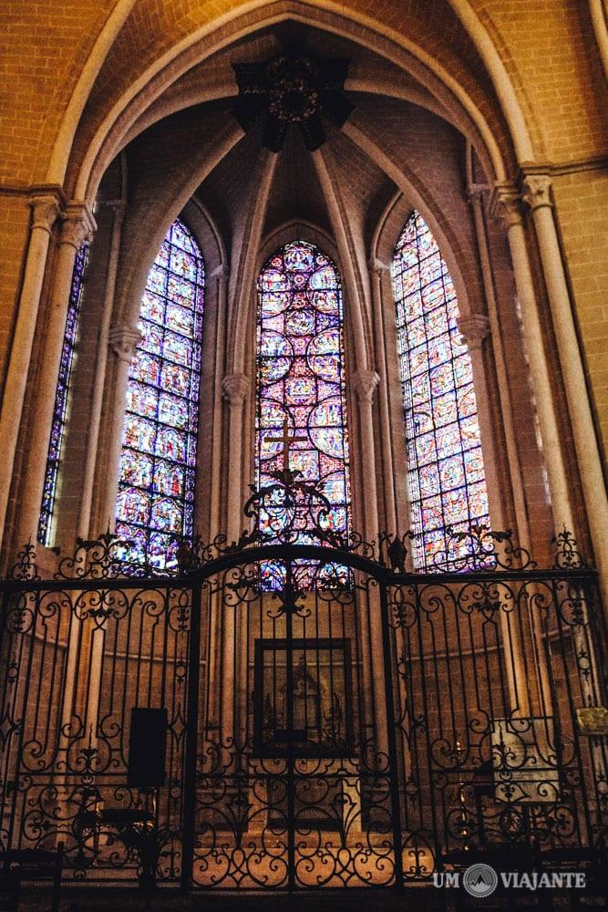 Relíquia Sagrada, Catedral de Chartres, França