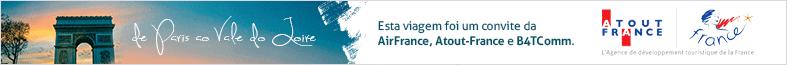 Essa viagem foi um convite da AirFrance, Atout-France e B4TComm.