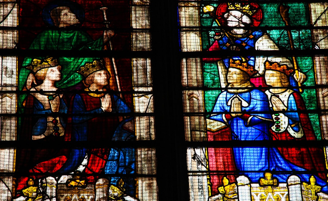 Vitrais Catedral de Chartres, França