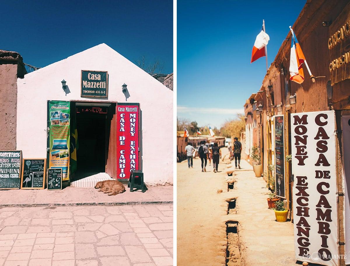 Casas de Câmbio no Atacama, Chile