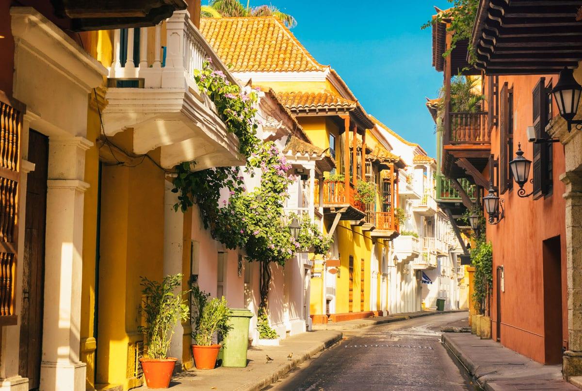 Cartagena, cidade amuralhada - Colômbia
