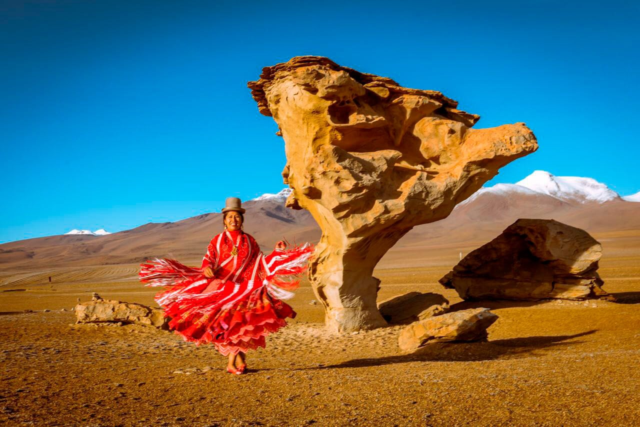 Cholita, FlaviaBia Expediciones