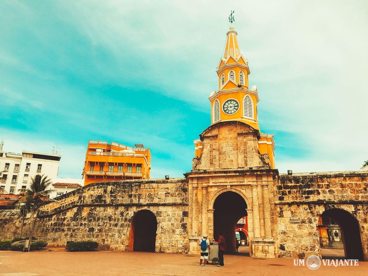 Portão do Relógio, Cartagena