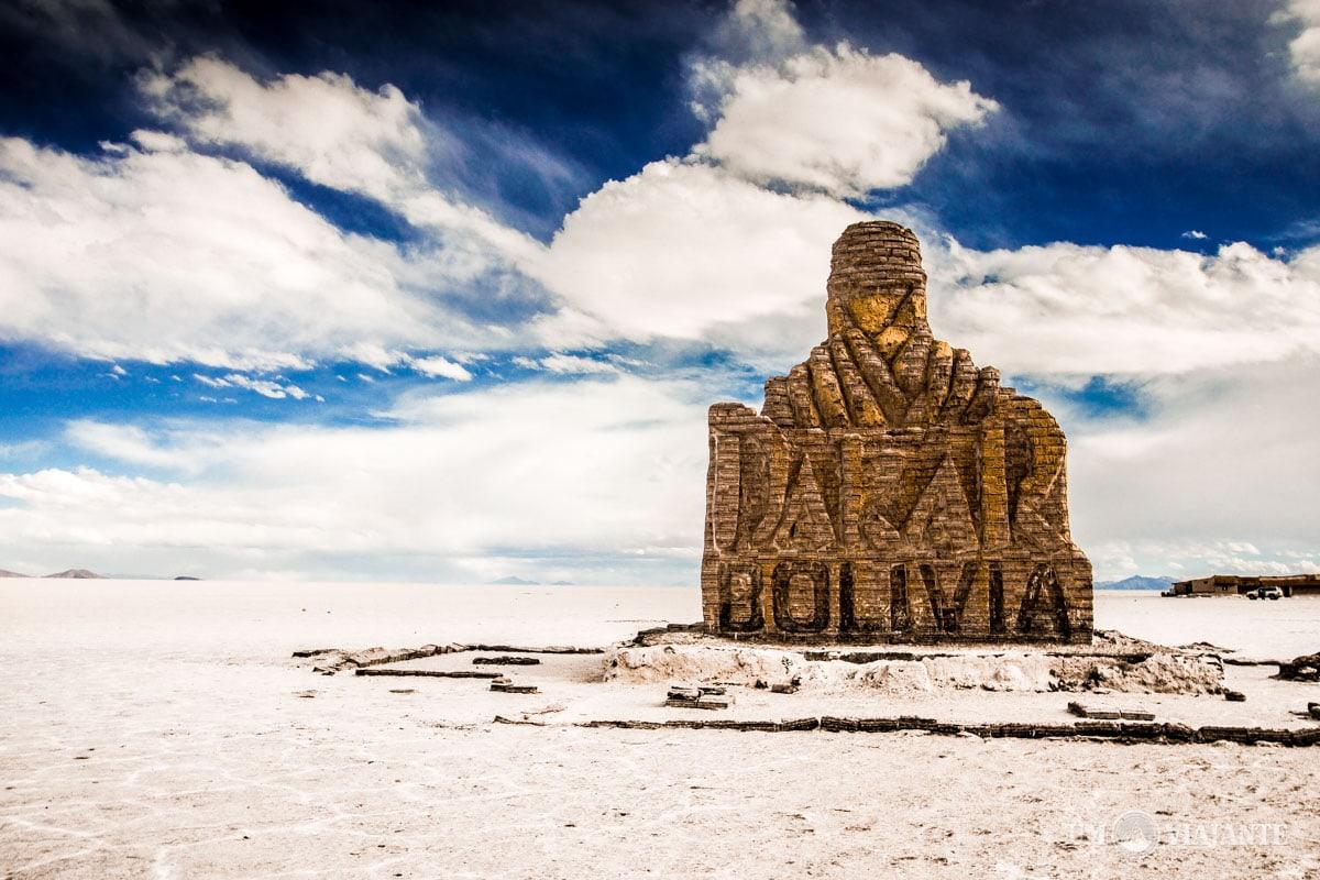 Monumento Dakar Bolívia, Uyuni