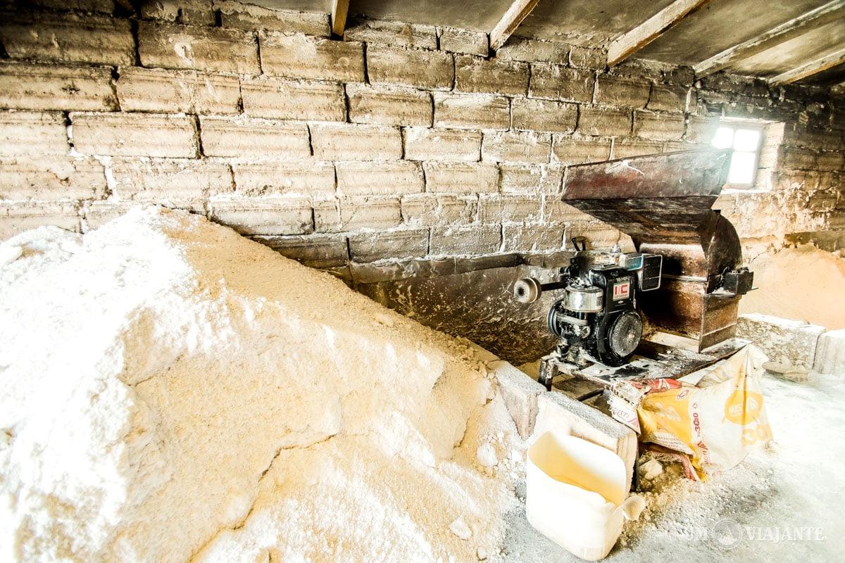 Fábrica de sal em Uyuni