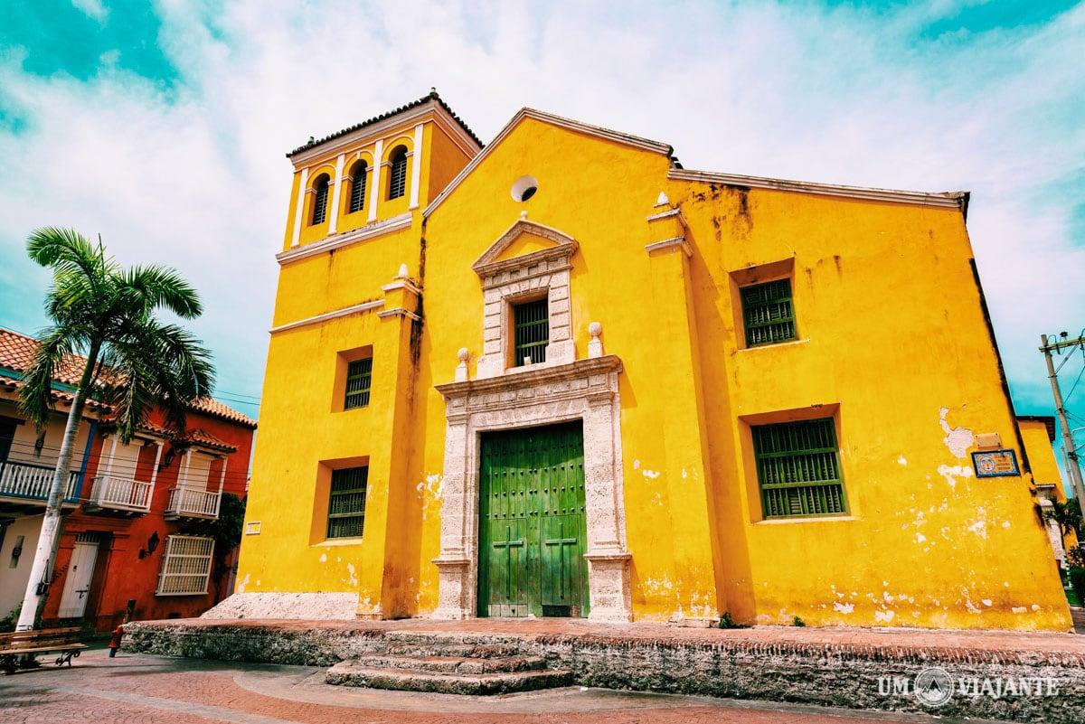 Igreja da Santíssima Trindade, Getsemaní - Cartagena