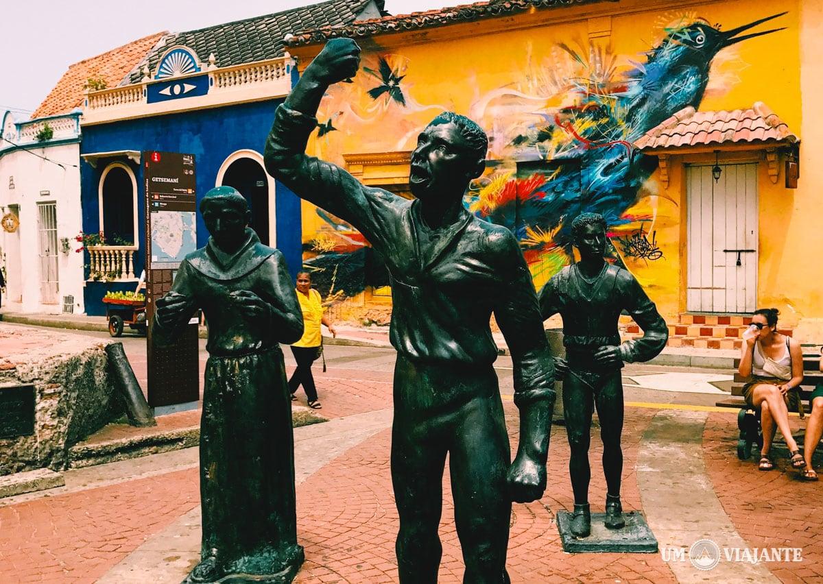 Plaza de la Trinidad, Getsemaní - Cartagena