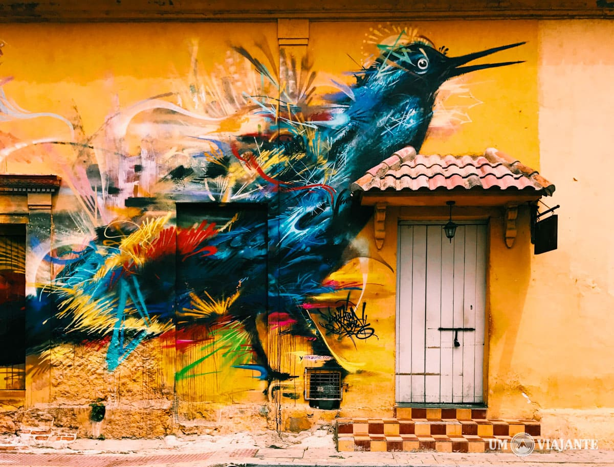 Graffiti em Getsemaní, Cartagena
