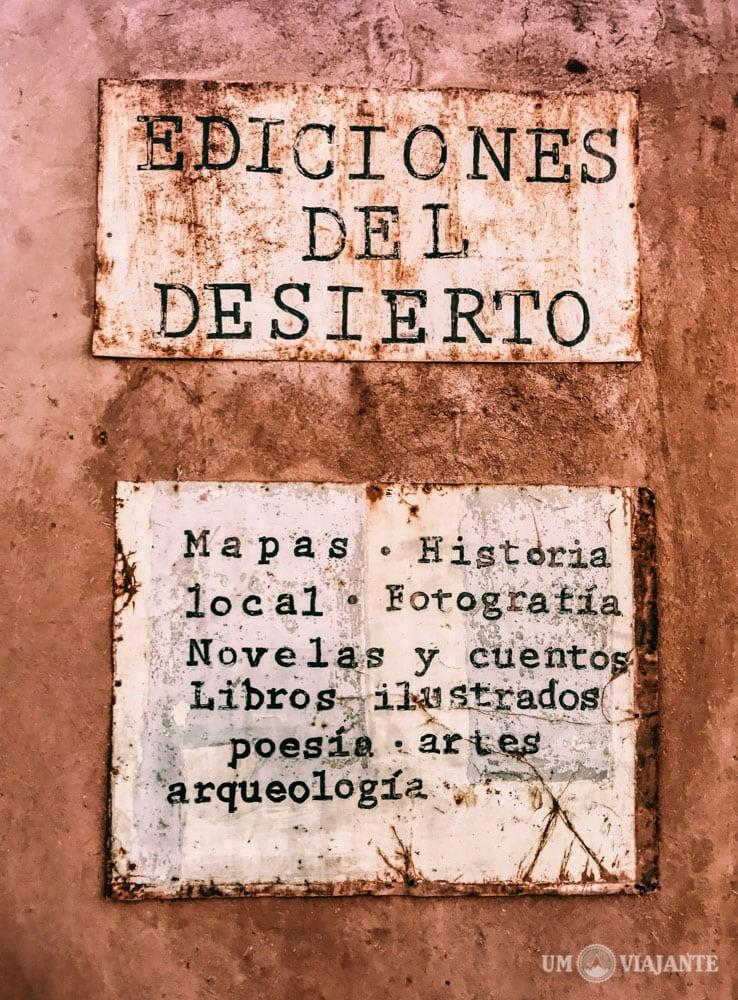 Livraria do Deserto - Atacama, Chile