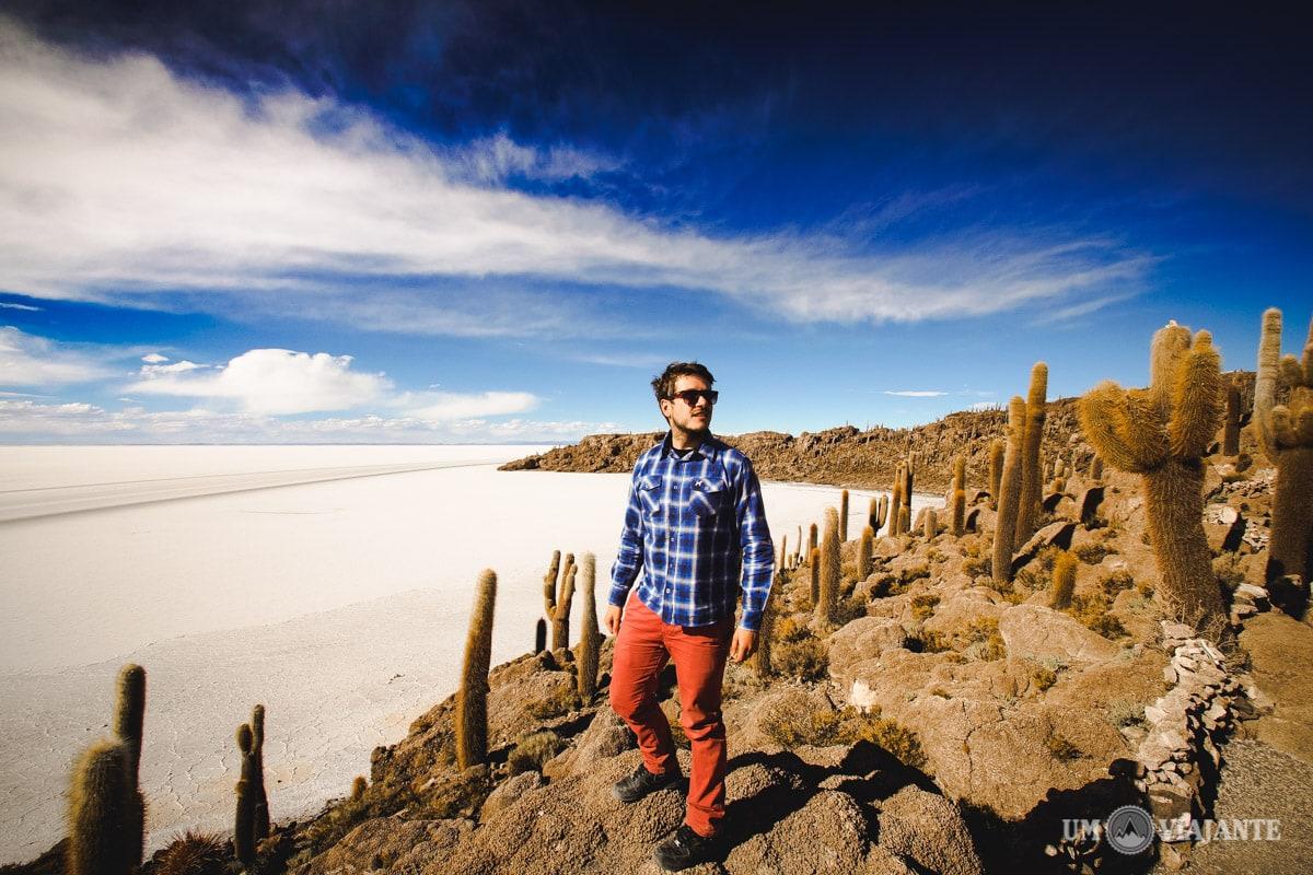 Salar de Uyuni, Bolívia - Um Viajante