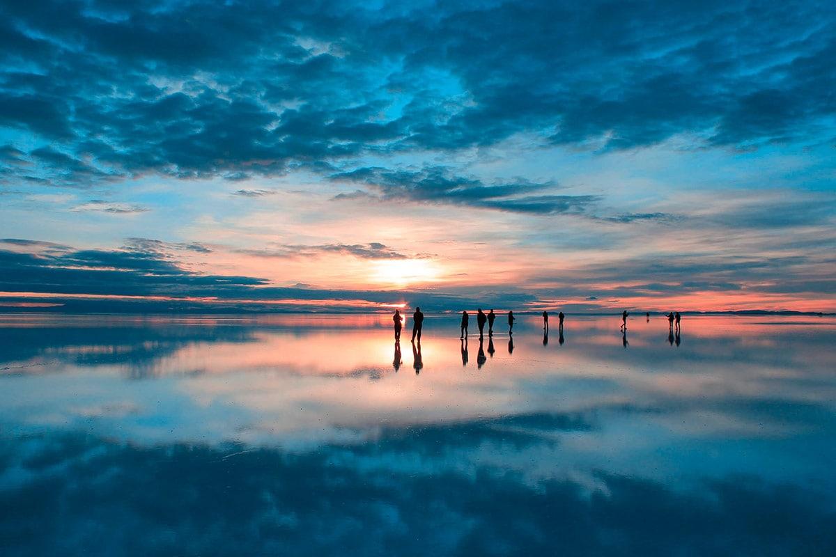 Salar de Uyuni Espelhado, Bolívia