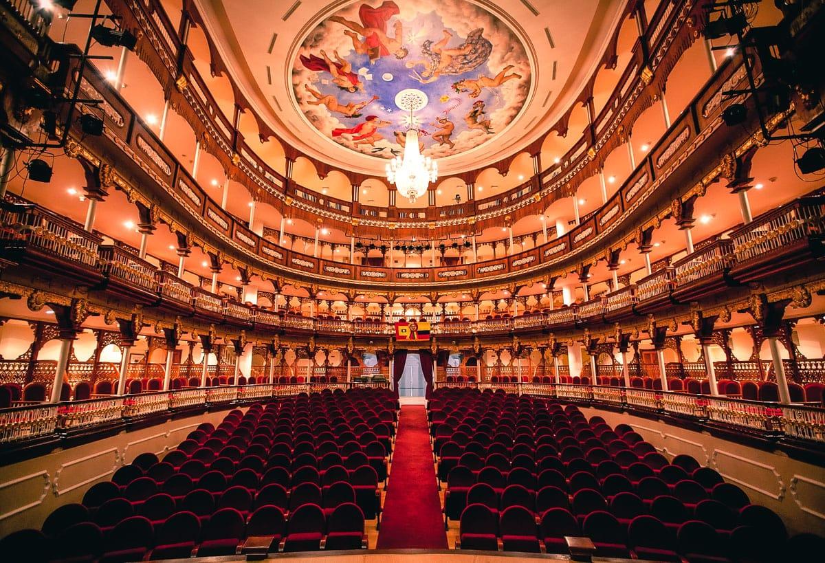 Teatro Heredia Adolfo Mejía, em Cartagena