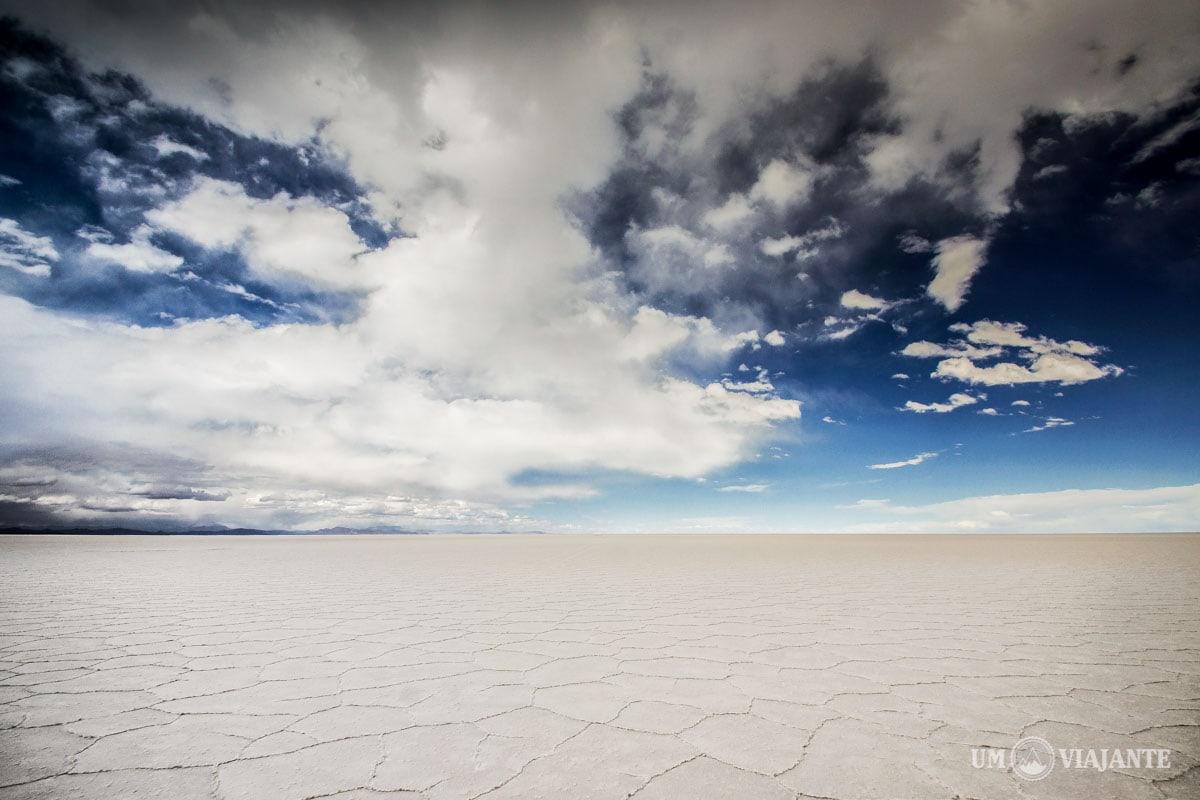 Tempestade no Salar de Uyuni, Bolívia