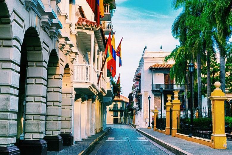 Parque Bolívar, Cartagena