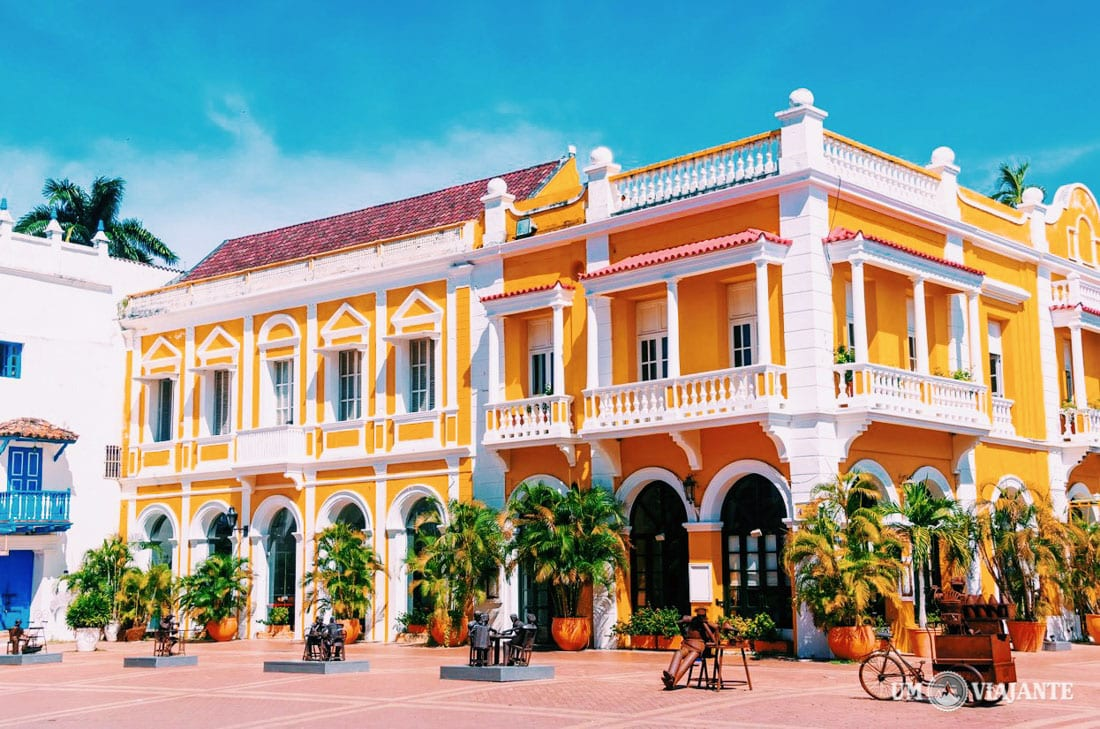 Praça de San Pedro Claver, Cartagena