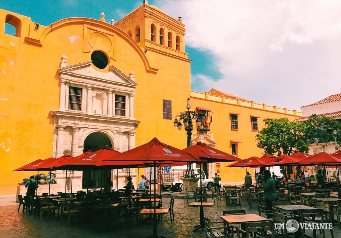Praça Santo Domingo, Cartagena