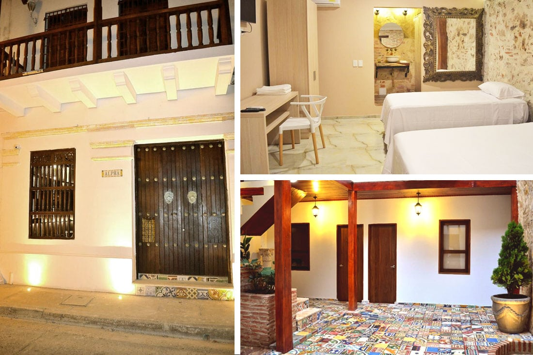Hotel Casa Alpha, Cartagena