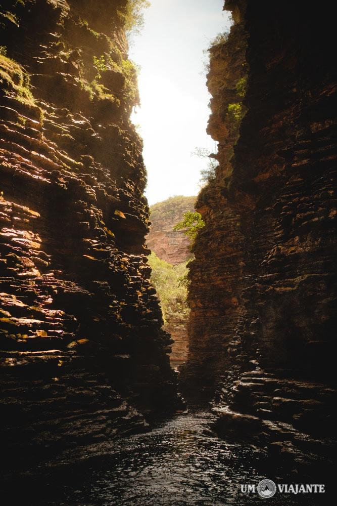 Cânion Cachoeira do Buracão, Chapada Diamantina
