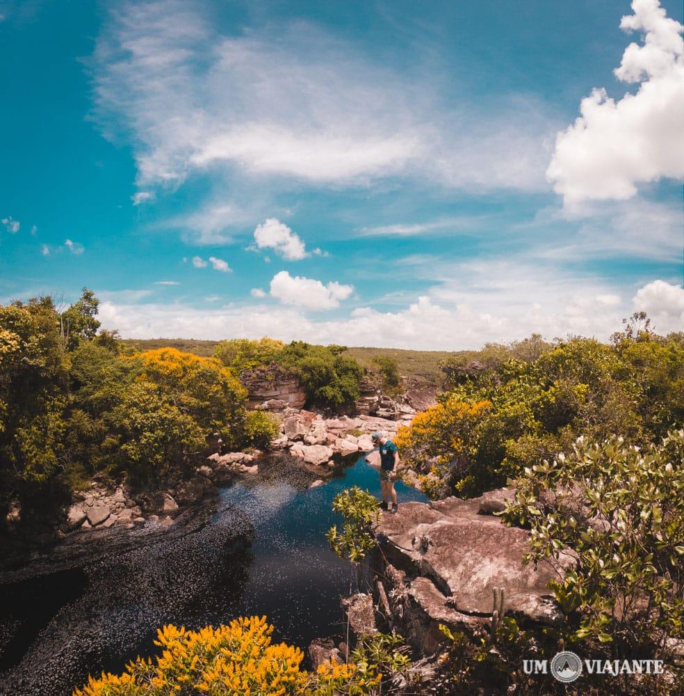 Mirante, Rio Espelhado - Chapada Diamantina