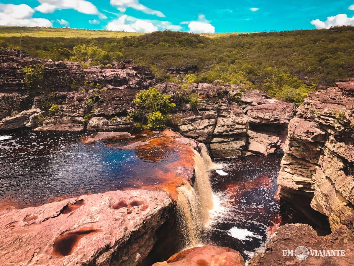 Cachoeira das Orquídeas, Chapada Diamantina