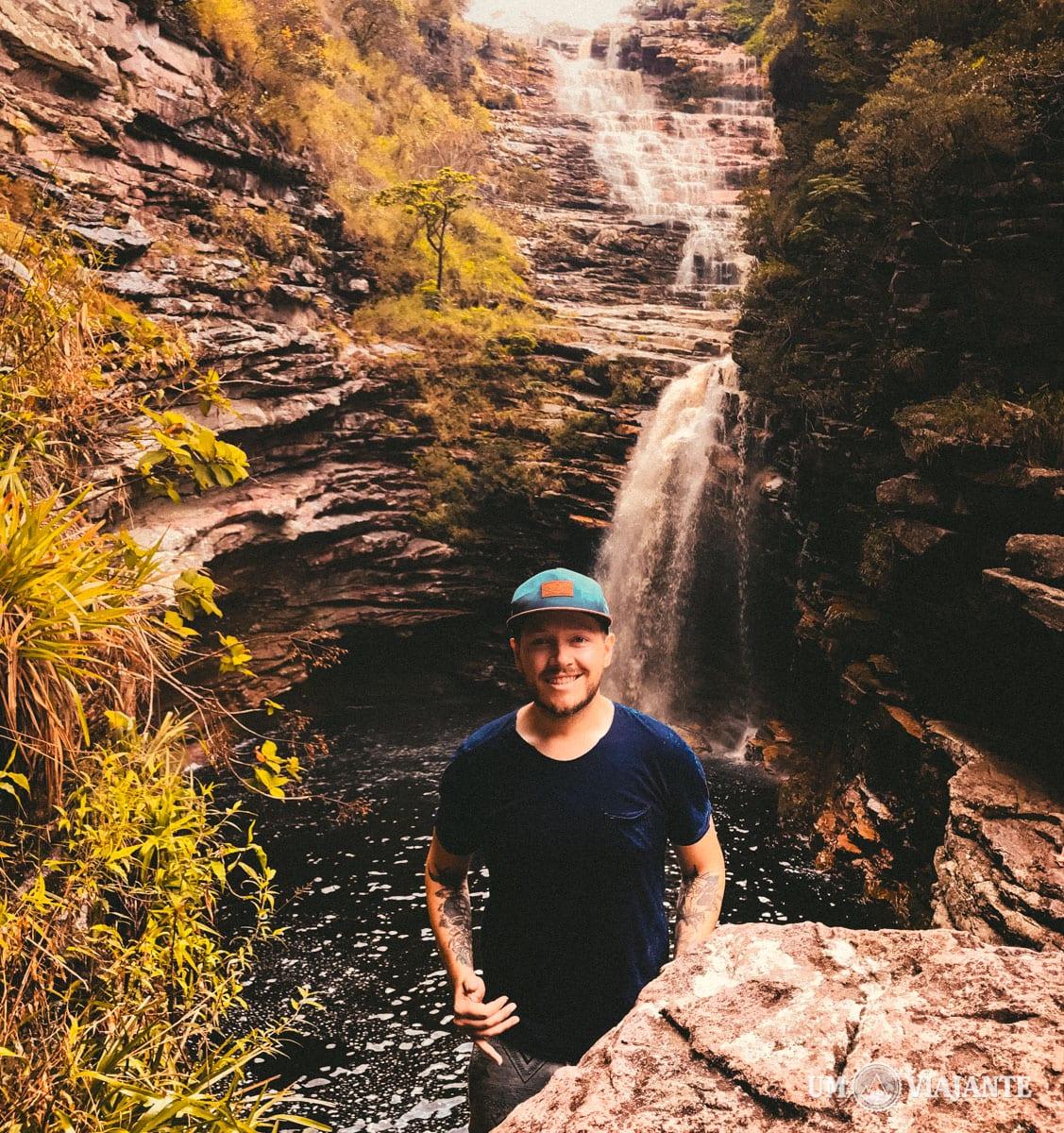 Cachoeira do Sossego, na Chapada Diamantina - Bahia