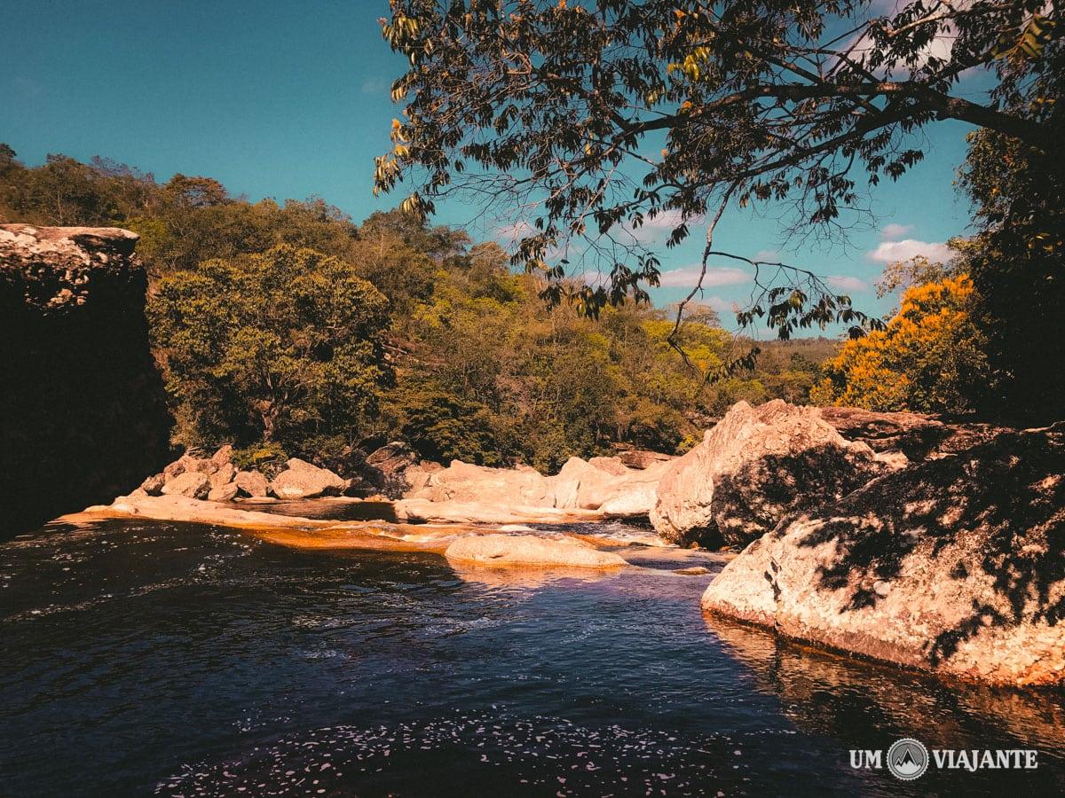 Ribeirão do Meio, na Chapada Diamantina - Bahia