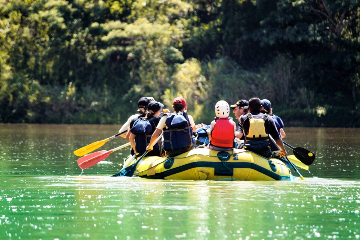 O Eco Park Porto da Ilha, em Bonito