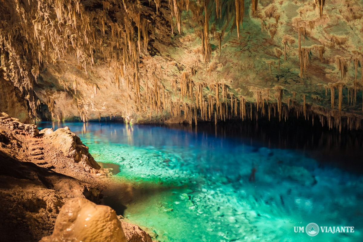 Gruta Lago Azul, Bonito - MS