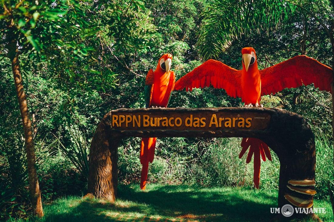 Buraco das Araras, Jardim - Bonito MS