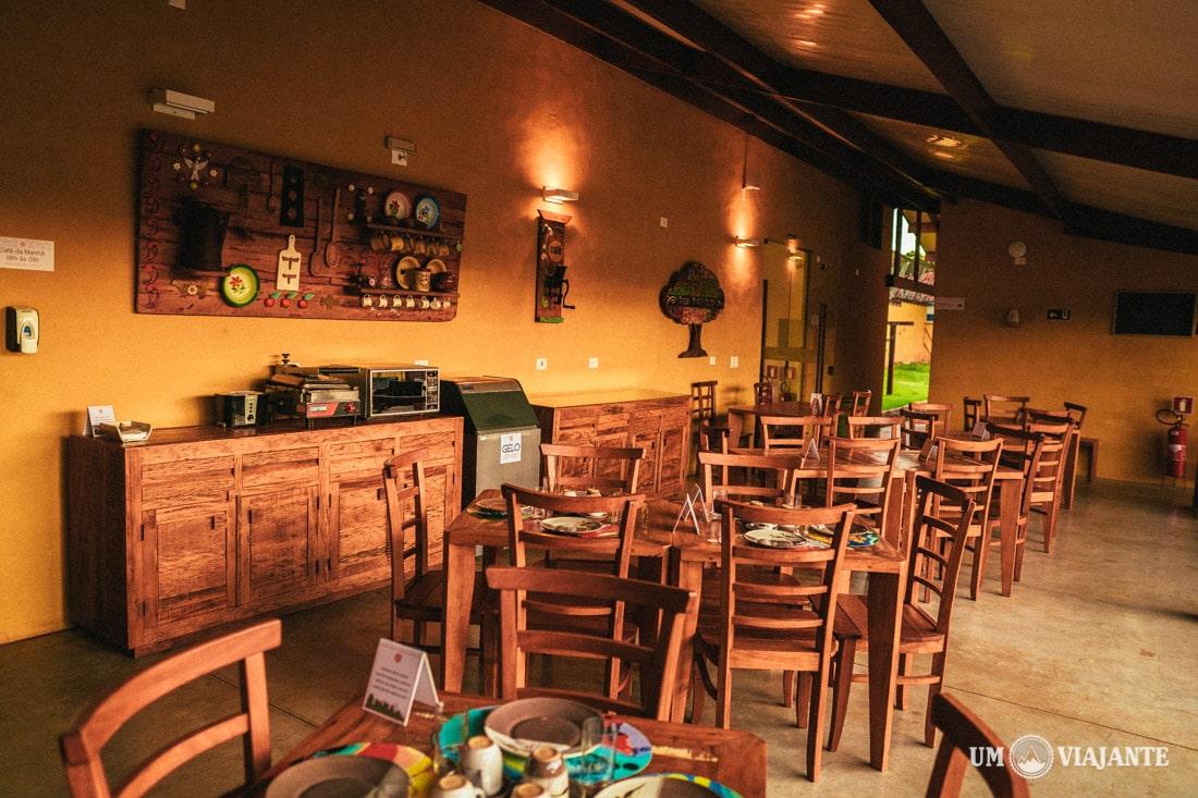 Café da manhã do Bonito Ecotel - Hotel Sustentável em Bonito, MS