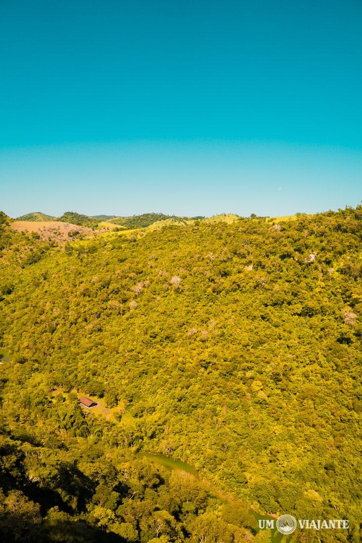 Vista do mirante Boca da Onça, Bonito - MS