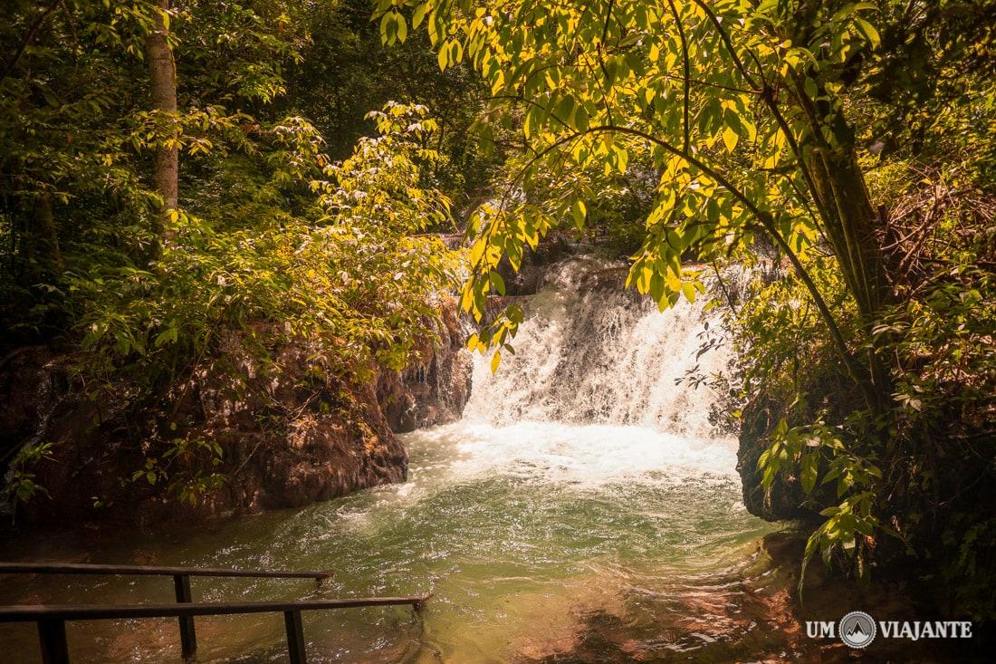 Poço da Lontra - Cachoeira - Boca da Onça, Bonito