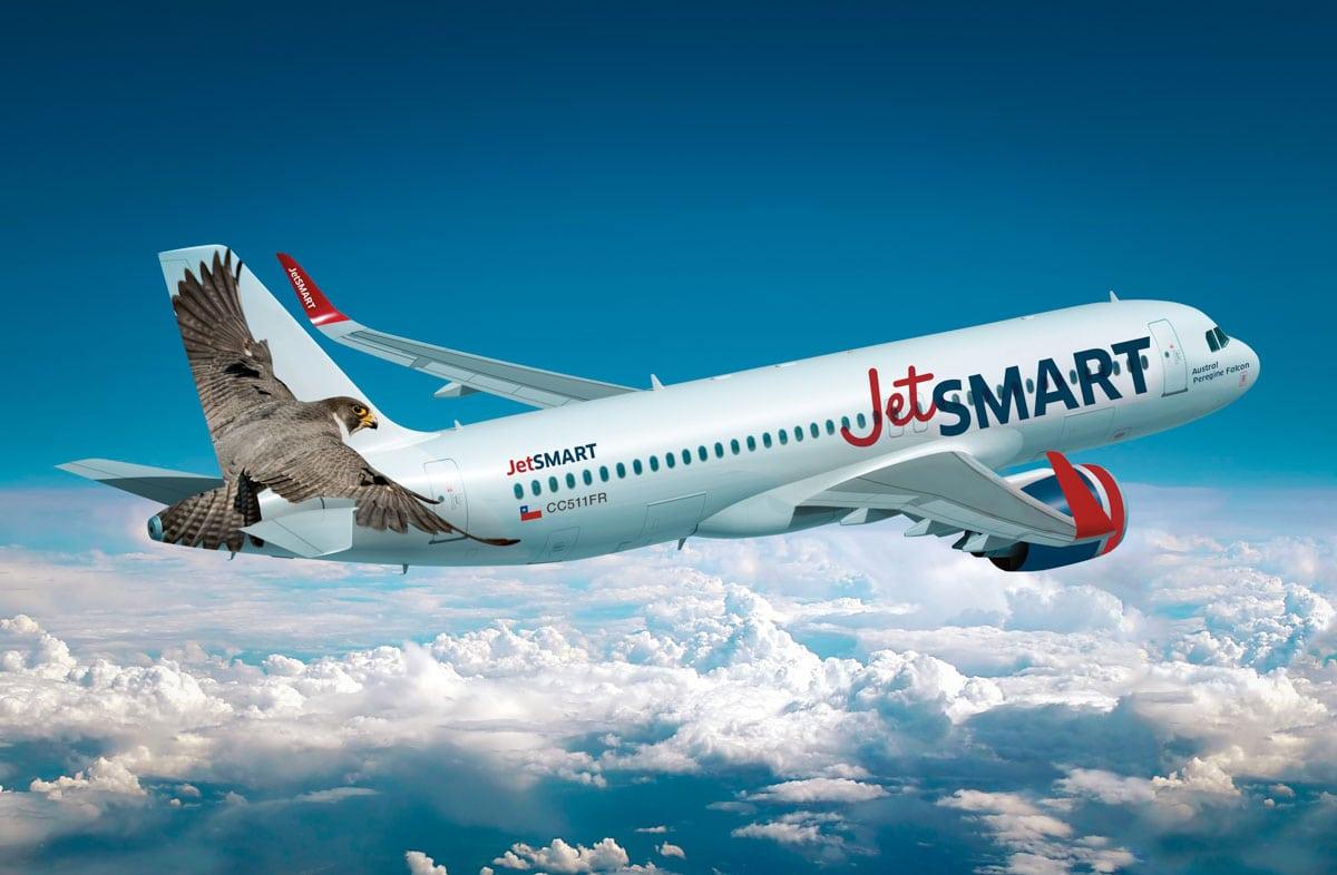 Voo JetSmart para o Atacama