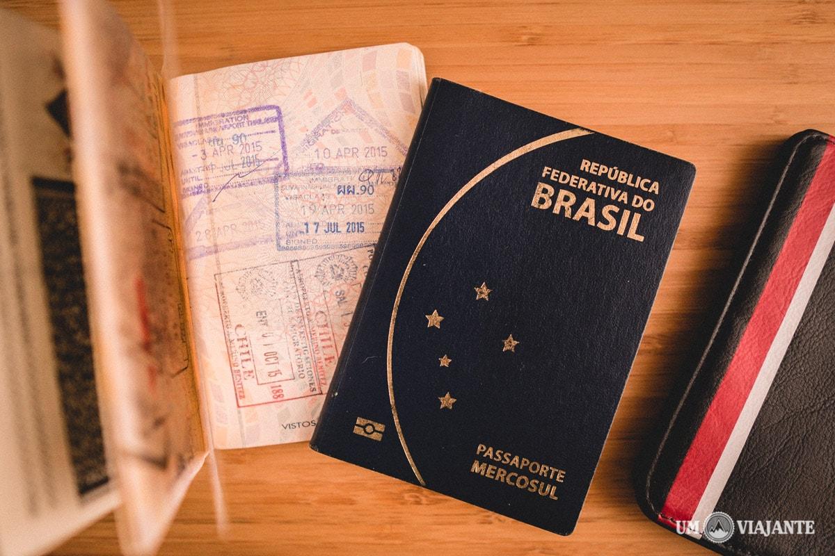 Passaporte Brasileiro - Mercosul