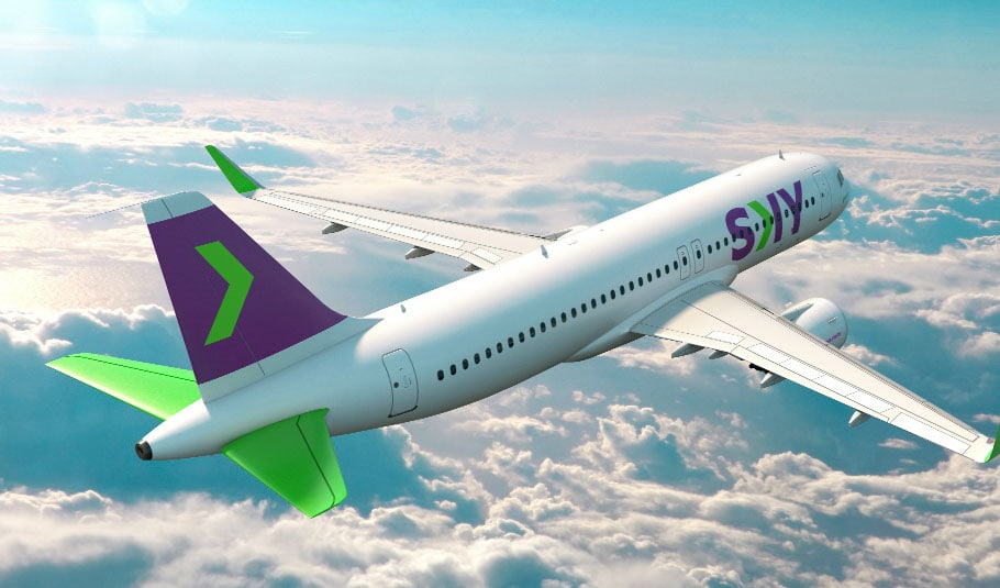 Voo SkyAirlines para o Atacama