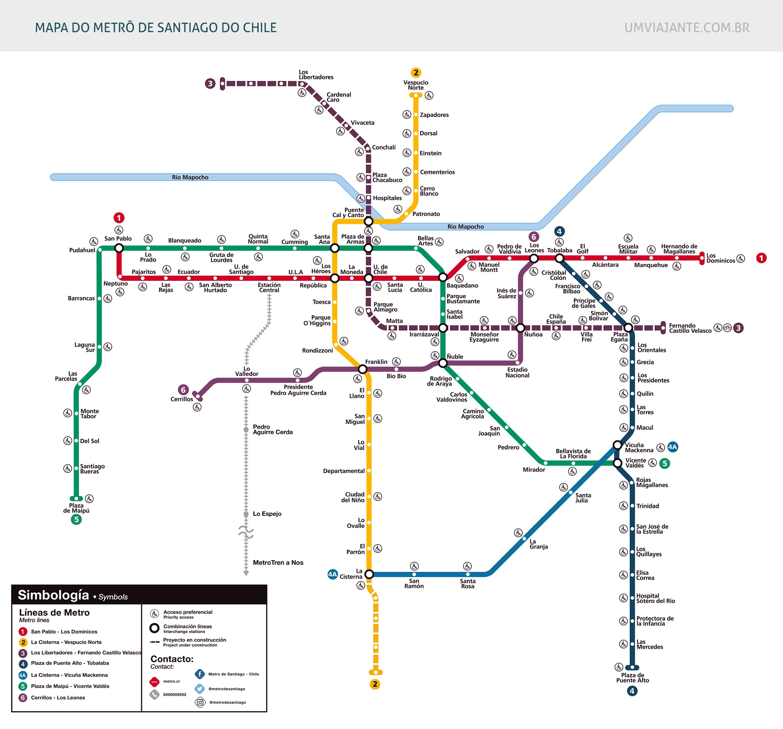 Metro De Santiago Do Chile Tudo Que Voce Precisa Saber Um Viajante