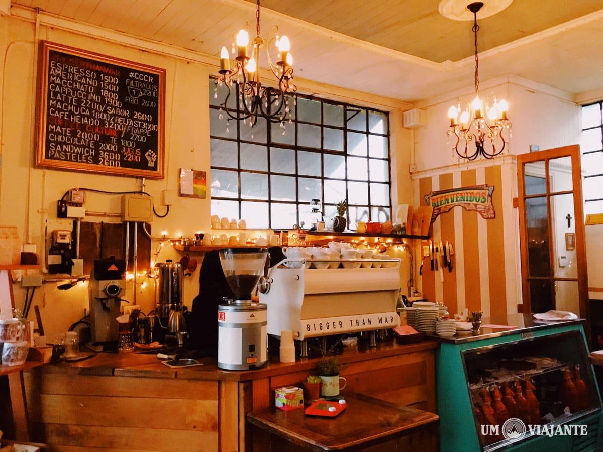 Melhores cafés de Santiago - Chile