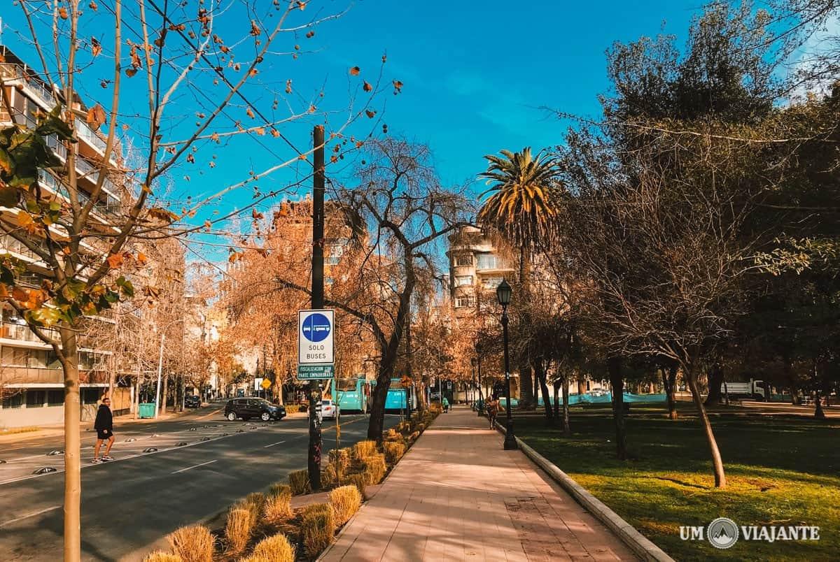 Como se locomover em Santiago