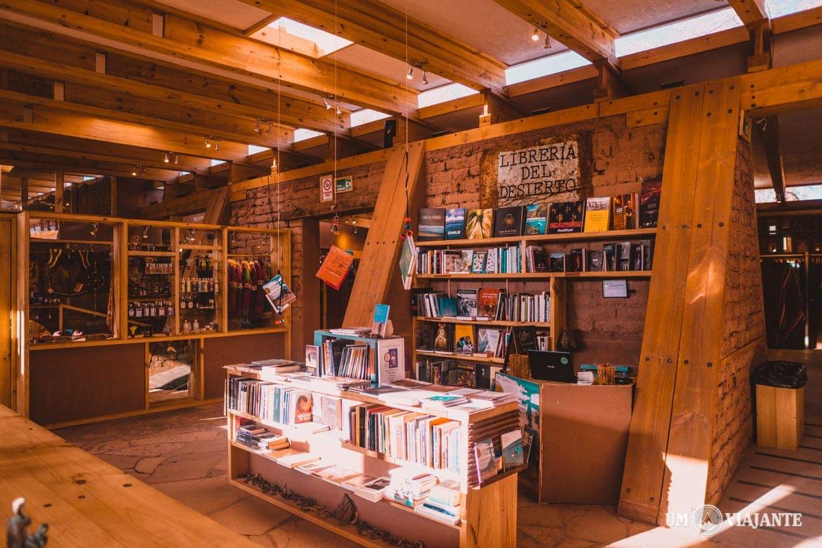 Livraria do Deserto do Atacama