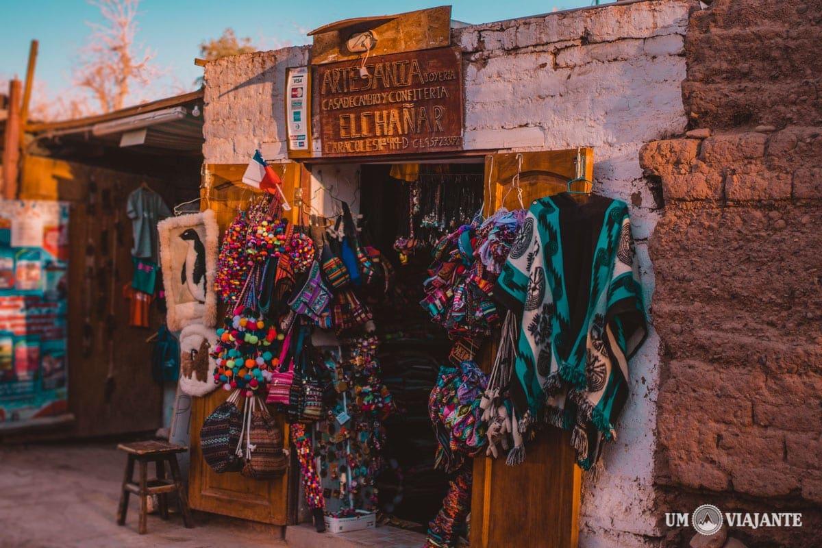Compras no Atacama: roupas, artesanatos, eletrônicos e valores