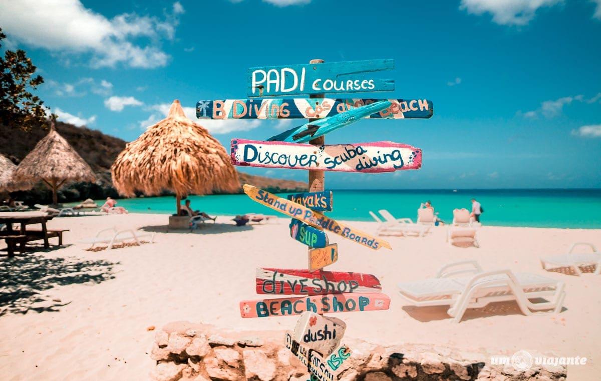 Conheça Curaçao, no Caribe