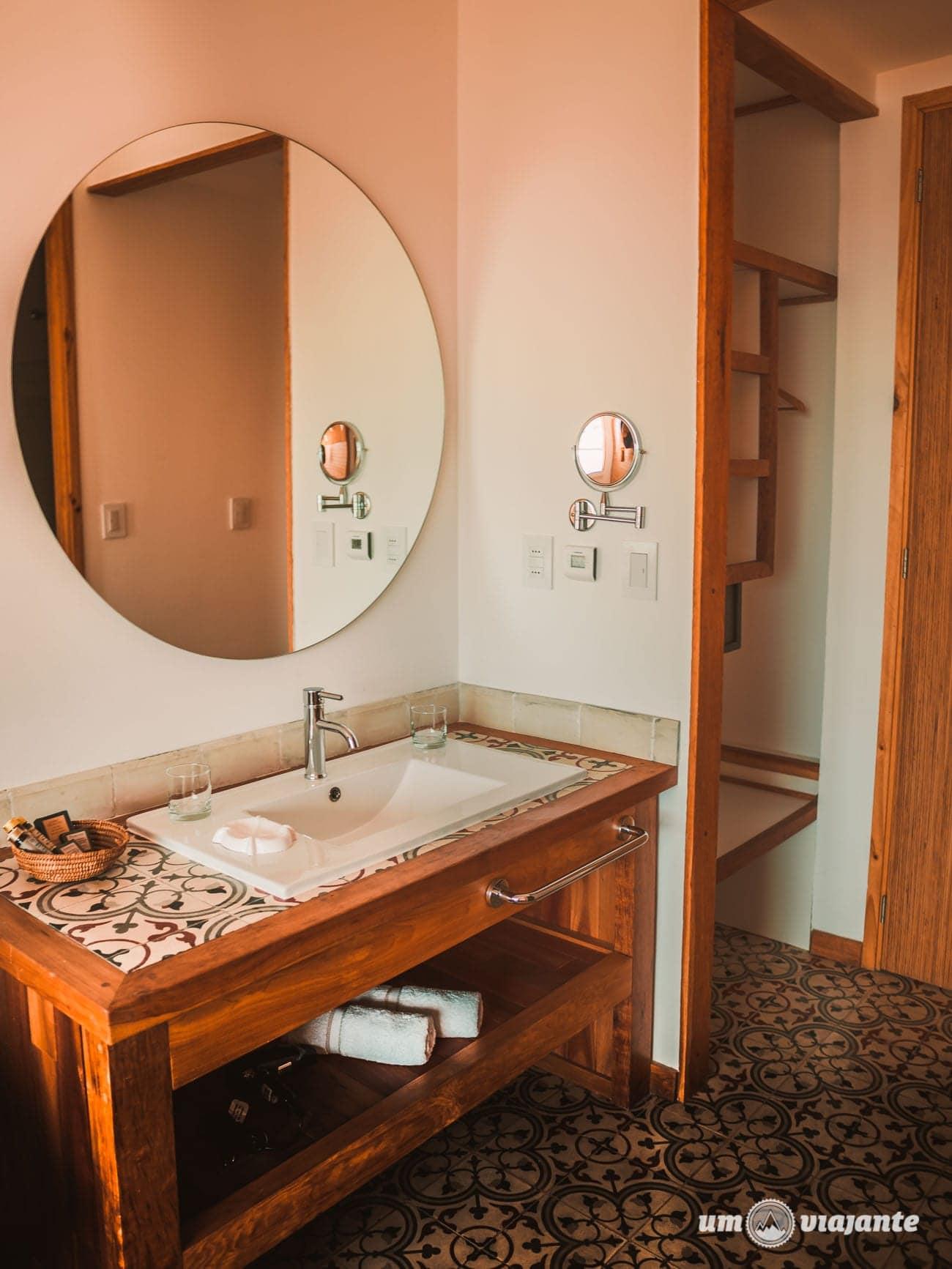 Banheiro do Simple Patagonia, Hotel em Puerto Natales - Chile