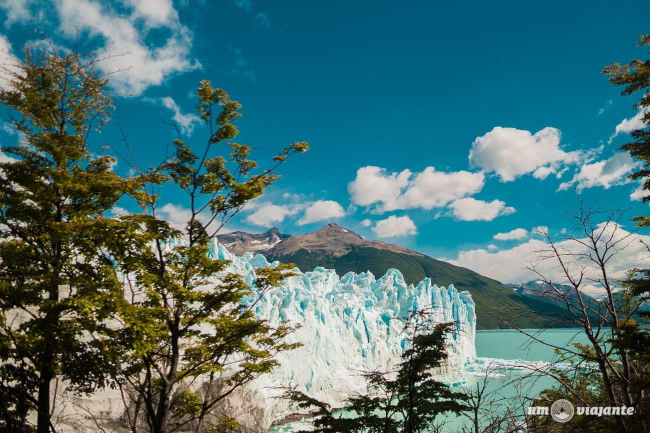 Glaciar de Perito Moreno, na Patagônia Argentina