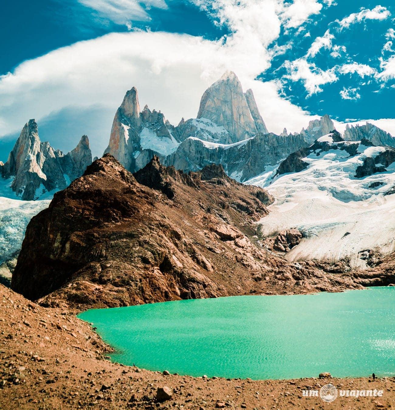 Monte Fitz Roy e Laguna de Los Tres - El Chaltén - Patagônia Argentina