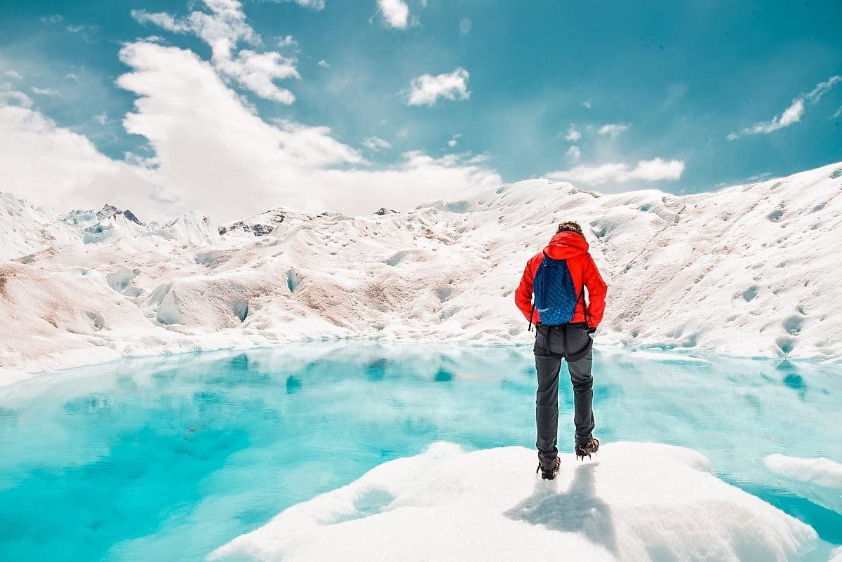 Trekking sobre o Glaciar de Perito Moreno