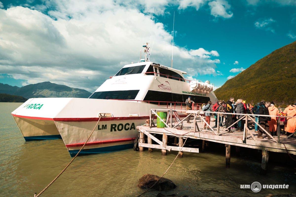 Catamaran - Navegação Glaciar Balmaceda e Serrano