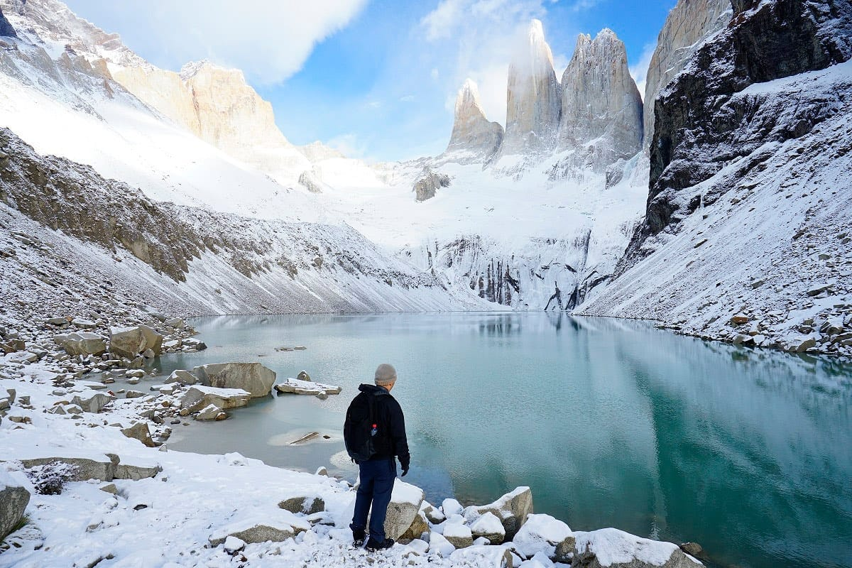 Torres del Paine no inverno